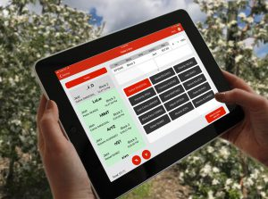 Hectre Harvest Management Module in Use