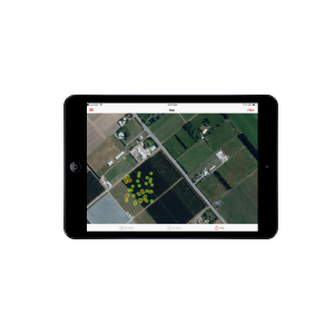View of Harvest Tracking with GPS in Hectre
